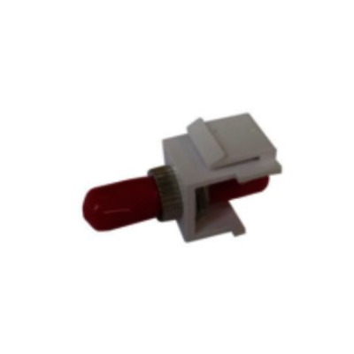 Microconnect FIBSTMKEY Fiber optic adapter - Rood, Wit