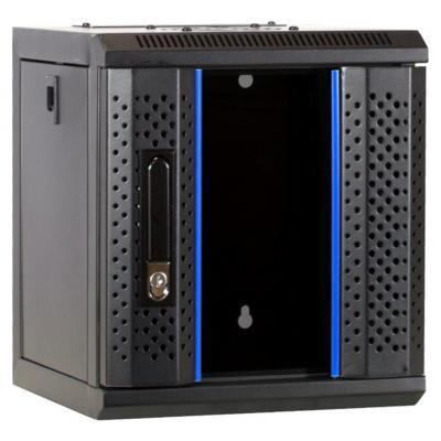 DS-IT 10 inch 4U serverkast met glazen deur 312x310x264mm (BxDxH) Stellingen/racks