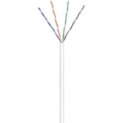 Goobay CAT 6 U/UTP 100m Netwerkkabel - Wit