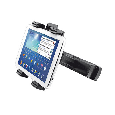 Trust houder: Universal Car Headrest Holder for tablets - Zwart