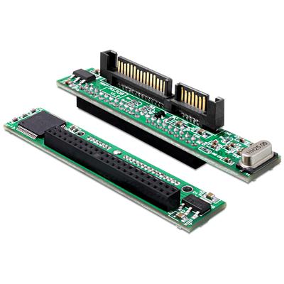 DeLOCK Converter 2.5 IDE HDD 44 pin > SATA 22 pin Kabel adapter - Zwart,Groen