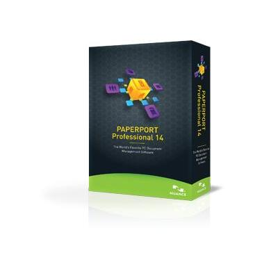 Nuance document management software: PaperPort Professional 14, ESD, ML