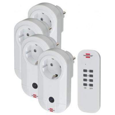 Brennenstuhl stekker-adapter: Comfort-Line Radio Switch Set RC CE1 4001