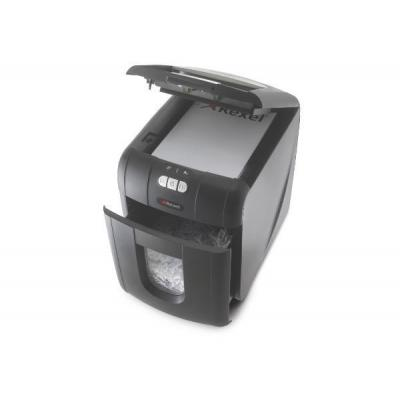 Rexel papierversnipperaar: Auto+ 100X Cross Cut Shredder - Zwart
