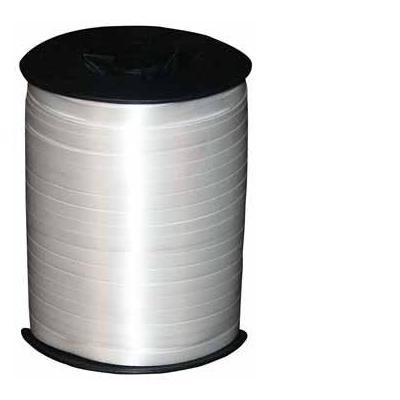 Haza cadeaupapier: inpaklint 10 mm x 250 m, zilver