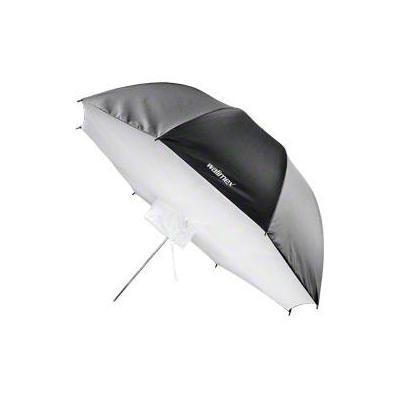 Walimex softbox: pro Umbrella Softbox Reflector, 109cm - Zwart, Wit