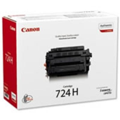 Canon CRG-724H Toner - Zwart