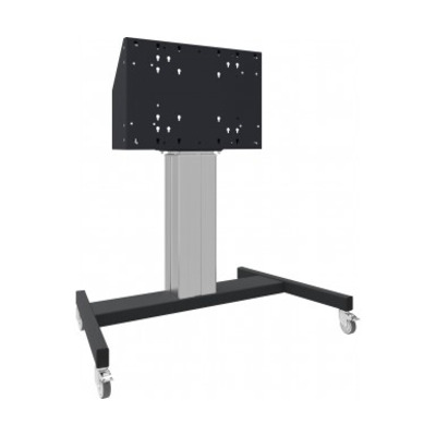 Iiyama TV standaard: Floor lift on wheels for (touch-) flat screens, fitted with VESA bracket, Max. Load 120 kg, .....