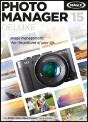 Magix grafische software: Photo Manager Deluxe 2015 (download versie)