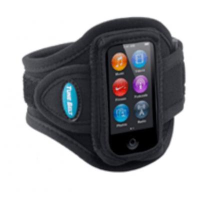 Tune belt MP3/MP4 case: Sport Armband for iPod nano 7G - Zwart