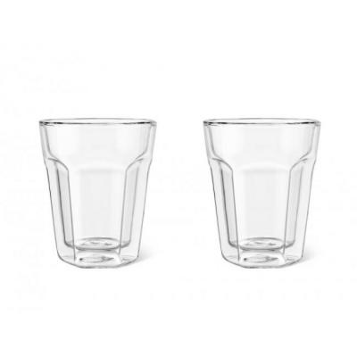 Leopold vienna : Double Walled Glass Espresso, 220ml, set of 2 - Transparant