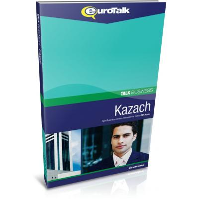 Eurotalk educatieve software: Talk Business, Leer Kazach (Gemiddeld, Gevorderd)