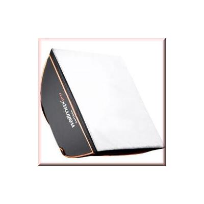 Walimex softbox: pro Softbox OL 90x90cm Aurora Bowens - Zwart, Wit