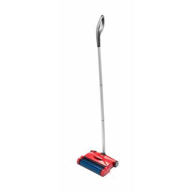 Vileda electrische bezem: E-Sweeper Quick & Clean - Blauw, Rood, Zilver