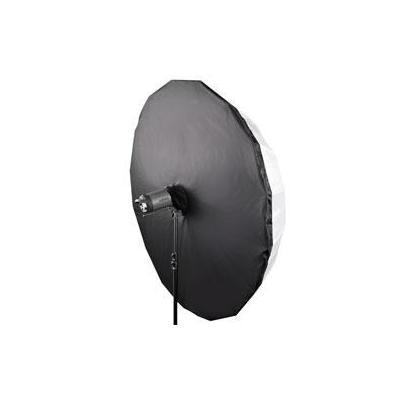 Walimex fotostudioreflector: Translucent Reflector Black/White, Ø180cm - Zwart, Wit