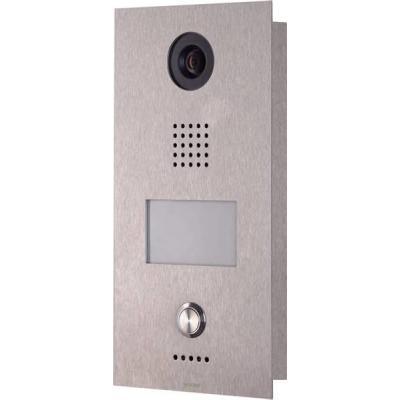Wantec deurintercom installatie: Monolith C IP - Roestvrijstaal