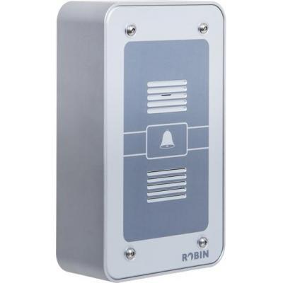 Robin deurintercom installatie: 8 pole connector, PoE, IP53, Aluminium