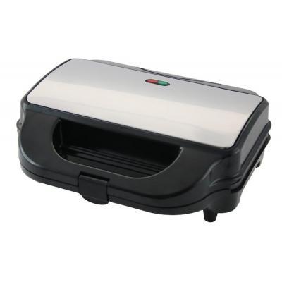 Emerio sandwich maker: ST-110284.1, 800W - Zwart, Roestvrijstaal