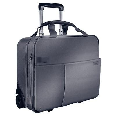 Leitz Complete Smart Carry-On Trolley, 3.2 kg, Zilver Bagagetas - Zwart, Zilver