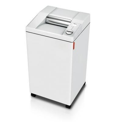 Ideal 2604 CC / 2 x 15 mm Papierversnipperaar - Wit