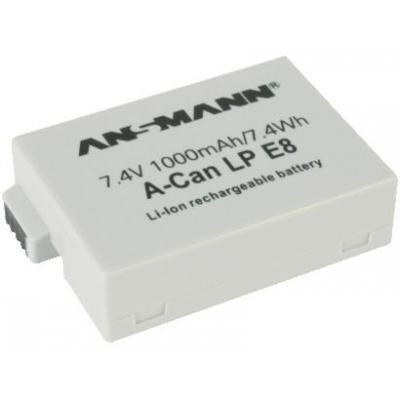 Ansmann A-Can LP-E8 - Wit