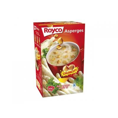 Royco voedingswaar: Minute soup Velout asperges/ds 20