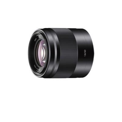 Sony camera lens: SEL50F18 - Zwart