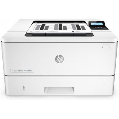 Hp laserprinter: LaserJet Pro M402dne - Zwart