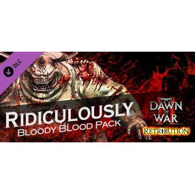 Sega : Warhammer 40,000: Dawn of War II - Retribution - Ridiculously Bloody Blood Pack