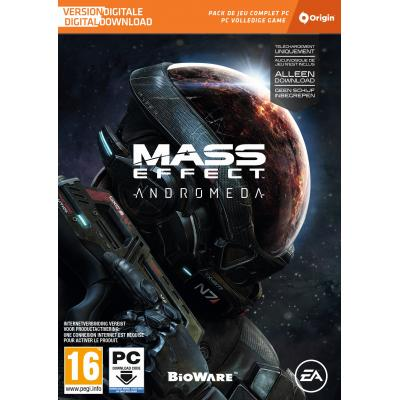 Electronic arts game: Mass Effect, Andromeda (Code in a Box)  PC