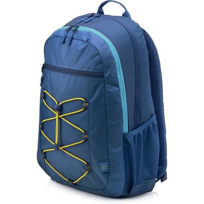 HP Active (Navy Blue/Yellow) Rugzak - Blauw, Geel