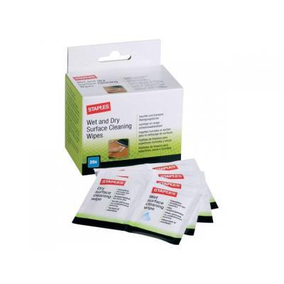 Staples schoonmaakmiddel: Reinigingsdoek SPLS 5637086 alg./ds20+20