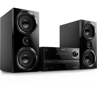 Philips home stereo set: Micromuzieksysteem - Zwart