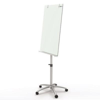 Nobo whiteboard: Diamond Glasbord op verrijdbaar statief 700x1000 mm