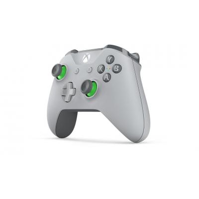 Microsoft game controller: Xbox Wireless Controller – Grey/Green - Groen, Grijs
