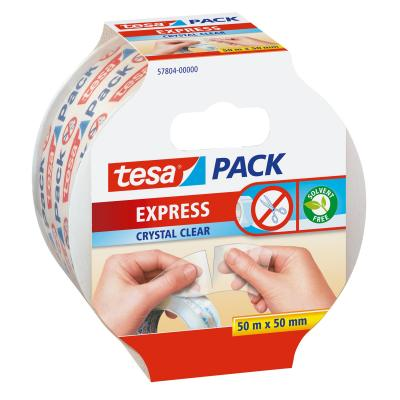 Tesa plakband: Express - Transparant