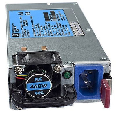 Hewlett Packard Enterprise 599381-001 Power supply unit - Zwart, Zilver