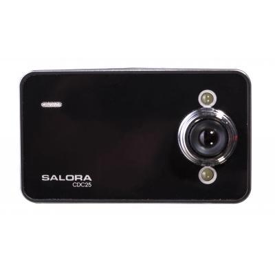 """Salora drive recorder: Voordelige HD dashcam met 2,4"""" display - Zwart, Zilver"""
