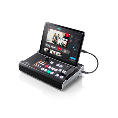 Aten StreamLIVE PRO Video switcher - Zwart