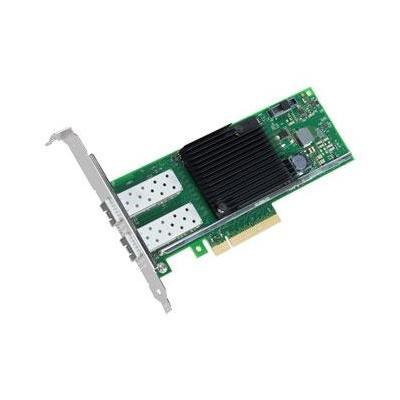 Dell netwerkkaart: Intel X710 Dual Port, 10Gb KR Blade Network Daughter Card, Customer Install - Groen, Roestvrijstaal