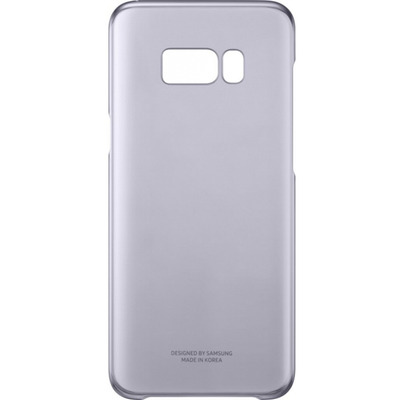 Samsung Galaxy S8+ Clear Cover Violet mobile phone case