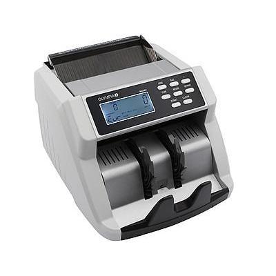 Olympia 1000 notes/min, Micro SD, LCD Geldteller - Zwart, Grijs
