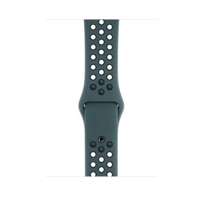 Apple 44mm Celestial Teal/Black Nike Sport Band – S/M & M/L - Zwart, Blauwgroen
