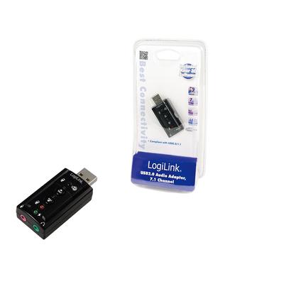 Logilink geluidskaart: USB Soundcard