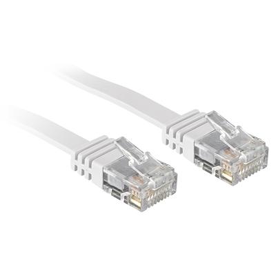 Lindy 1m Cat.6 Netwerkkabel - Wit