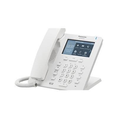 "Panasonic IP telefoon: 2 Gigabit RJ-45, 1 RJ-9, 10.922 cm (4.3 "") colour TFT LCD touch panel, Built-in bluetooth,24 ....."