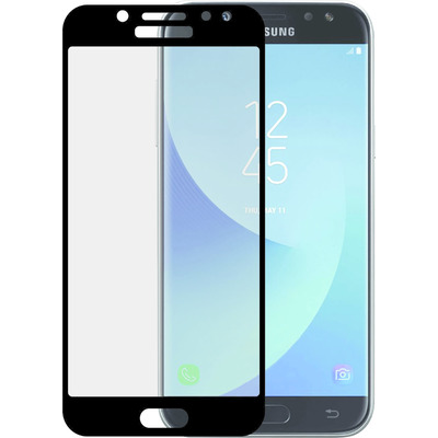 "Azuri Tempered Glass voor Samsung Galaxy J7 2017, 5.5"", Zwart/Transparant Screen protector"