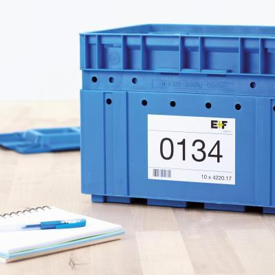 Herma etiket: Inkjet labels A4 210x297 mm white paper matt 100 pcs. - Wit