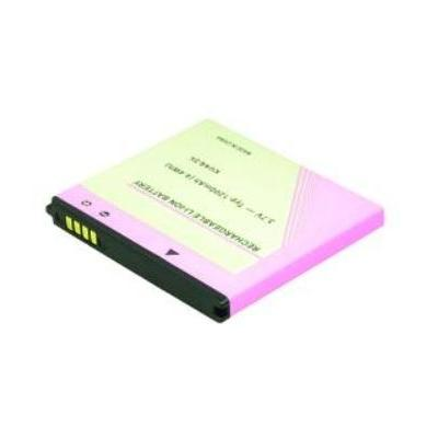 2-power batterij: 3.7V 1200mAh - Zwart, Roze, Geel