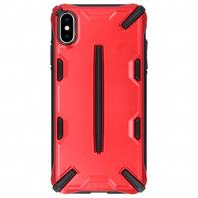 Dual X Backcover iPhone Xs Max - Rood / Red Mobile phone case